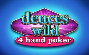 Deuces Wild 4-Hand Poker