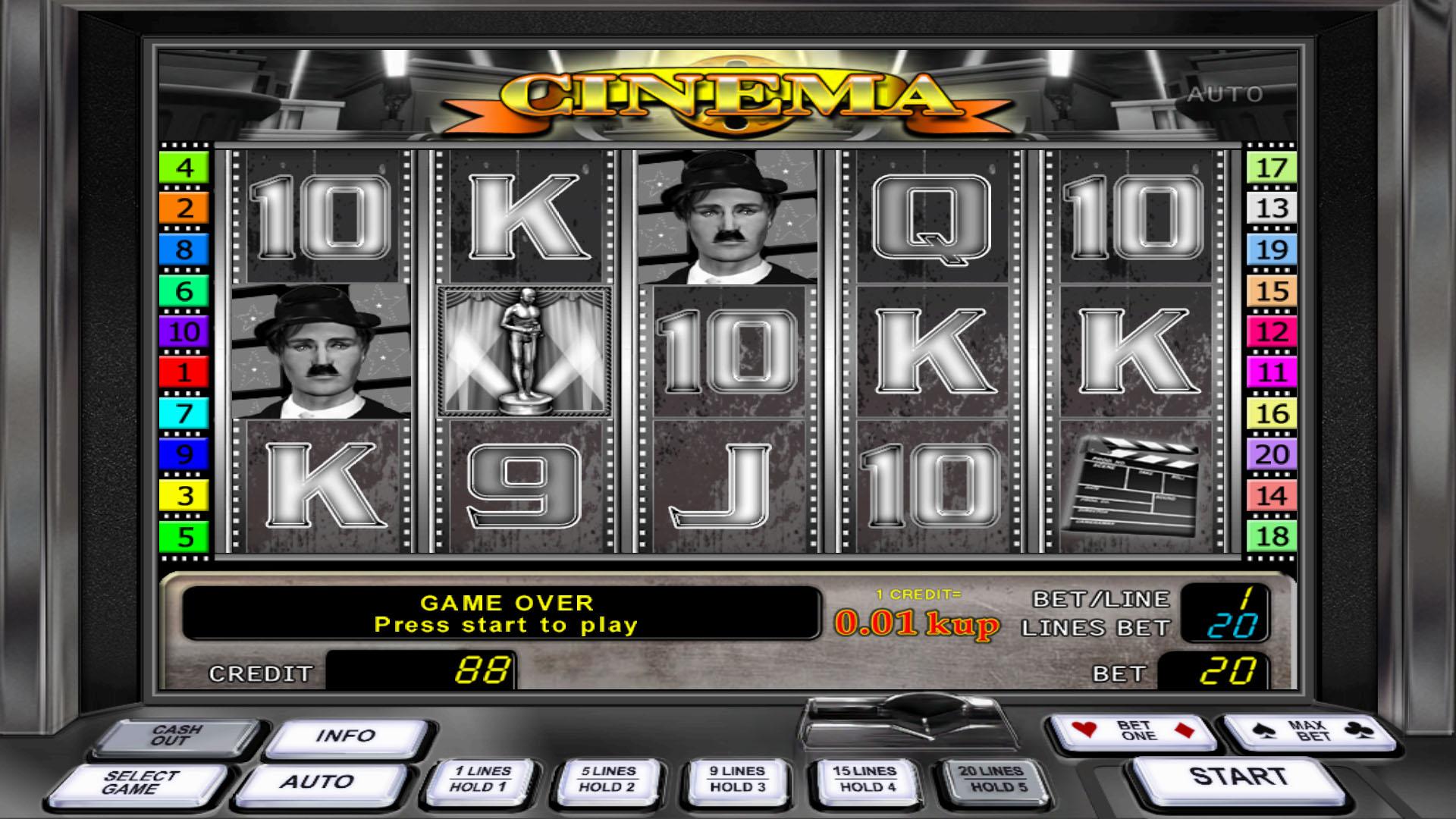 Чаплин игровые автоматы казино х 2